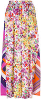 Roseanna clashing print skirt - women - Viscose - 36