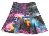 Dirtee Hollywood Girl's Printed Skater Skirt