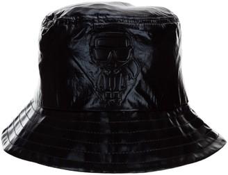 Karl Lagerfeld Paris K/Ikonik Metallic Bucket Hat