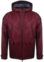 Paul & Shark Paul And Shark Full Zip Hooded Fire Jacket Red