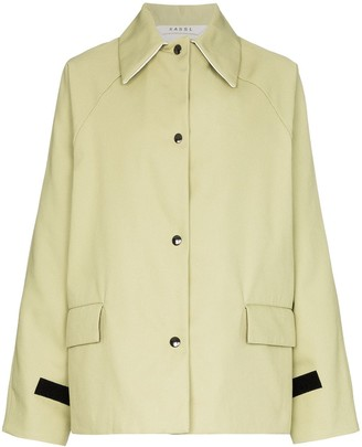 Kassl Editions Button-Up Long-Sleeve Jacket