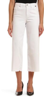 Mavi Jeans Bodrum High Waist Crop Wide Leg Jeans