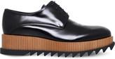 Jil Sander Teeth flatform leather Derby shoes