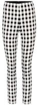 Rag & Bone Simone plaid cropped trousers