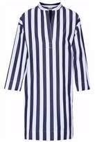 Sleepy Jones Striped Cotton Night Dress