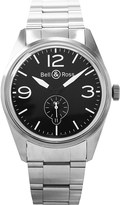 Bell & Ross BRV123-BL-ST/SST vintage original automatic stainless steel watch