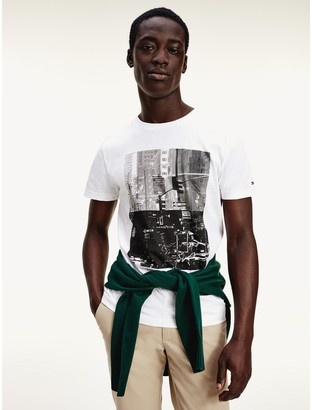 Tommy Hilfiger Organic Cotton city Photo T-Shirt