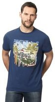Mantaray Navy Campervan Print T-shirt