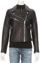 Doma Classic Leather Moto Jacket