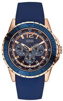 Guess Mens Multifunction Two-Tone Watch 46mm W0485G1