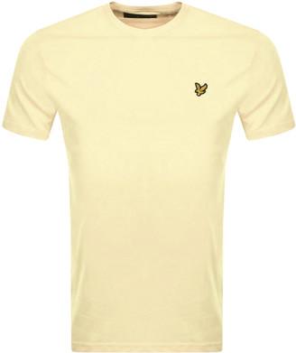 Lyle & Scott Crew Neck T Shirt Yellow