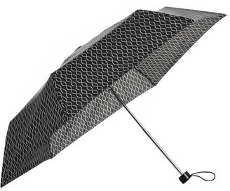 totes Super Mini Wavy Lines Umbrella