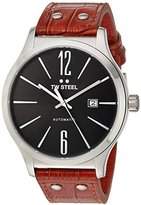 TW Steel Men's TWA1310 Analog Display Quartz Brown Watch