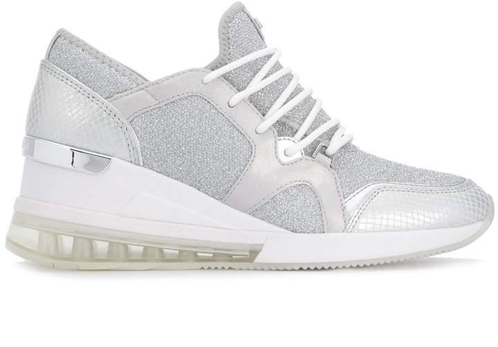 MICHAEL Michael Kors glitter heeled sneakers