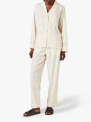 Jigsaw Pin Check Print Pyjamas