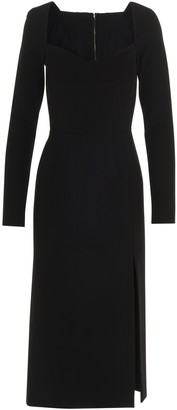 Dolce & Gabbana Fitted Long-Sleeve Dress