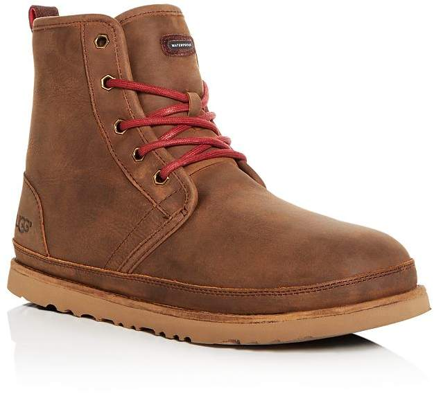 deb07932845 Men's Harkley Waterproof Nubuck Leather Cold-Weather Boots