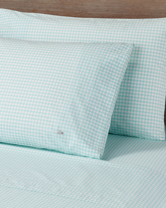 Lacoste Print Bird Eye Percale Sheet Set