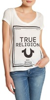 True Religion Reflective V-Neck Tee