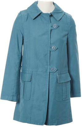 Marc Jacobs Blue Cotton Trench Coat for Women
