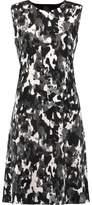 Norma Kamali Printed Ponte Dress