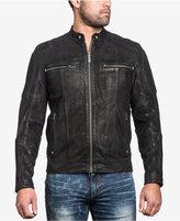 Affliction Men's Fury Road Leather Moto Jacket