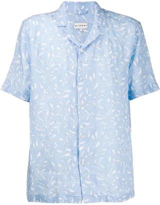 Bluemint Leaf Print Shirt