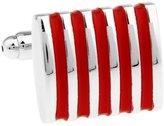 LBFEEL Classic Modern Stripe Cufflinks for Mens Shirt in 5 Styles