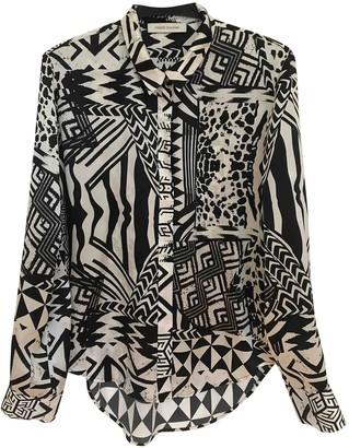 Pierre Balmain Black Silk Top for Women Vintage