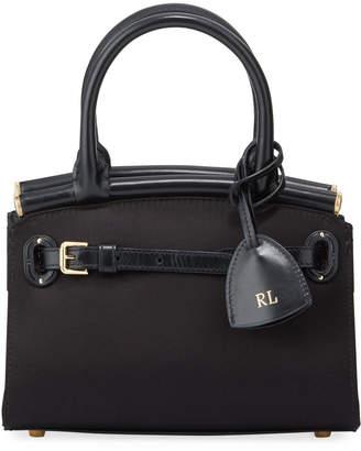 Ralph Lauren Satin Mini Top Handle Bag