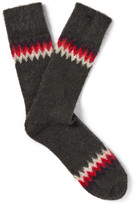 Anonymous Ism - Felted Socks