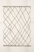 Urban Outfitters Tabor Organic Lines Printed Chenille Rug
