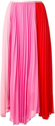 CK Calvin Klein High-Waisted Pleated Skirt