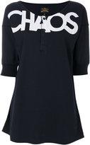 Vivienne Westwood printed henley T-shirt