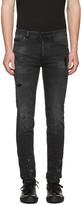 Marcelo Burlon County of Milan Black Gregorio Jeans