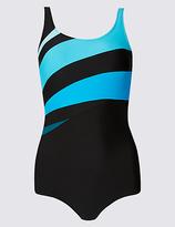 M&S Collection Secret SlimmingTM Printed Swimsuit