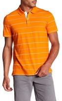 Victorinox Short Sleeve Striped Polo