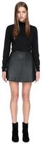 Violca Leather Skirt