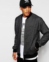 Adidas Originals Tweed Bomber Jacket Ab7649 - Black