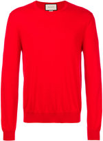 Gucci round neck jumper - men - Cashmere - M