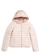 Moncler Girl's Iraida Water Resistant Hooded Down Puffer Jacket