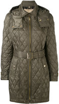 Burberry quilted jacket - women - Polyester - M