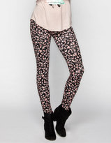 Full Tilt Ditsy Floral Print Womens Leggings