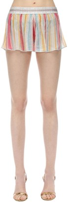 Missoni Printed Logo Waistband Knit Shorts