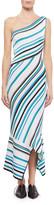Roland Mouret Ada One-Shoulder Asymmetric Dress