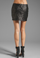 MM Couture by Miss Me Allover Sequin Mini Skirt