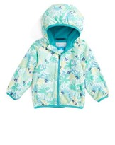 Columbia Infant Girl's Mini Pixel Grabber(TM) Ii Water Resistant Hooded Jacket