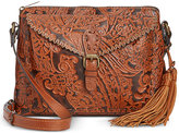 Patricia Nash Burnished Tooled Lace Avellino Crossbody