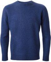 The Elder Statesman Cashmere Blend Felt Sweater
