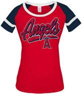 5th & Ocean Women's Los Angeles Angels of Anaheim Homerun T-Shirt